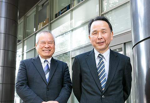 三原 政次先生&徳永 智明先生