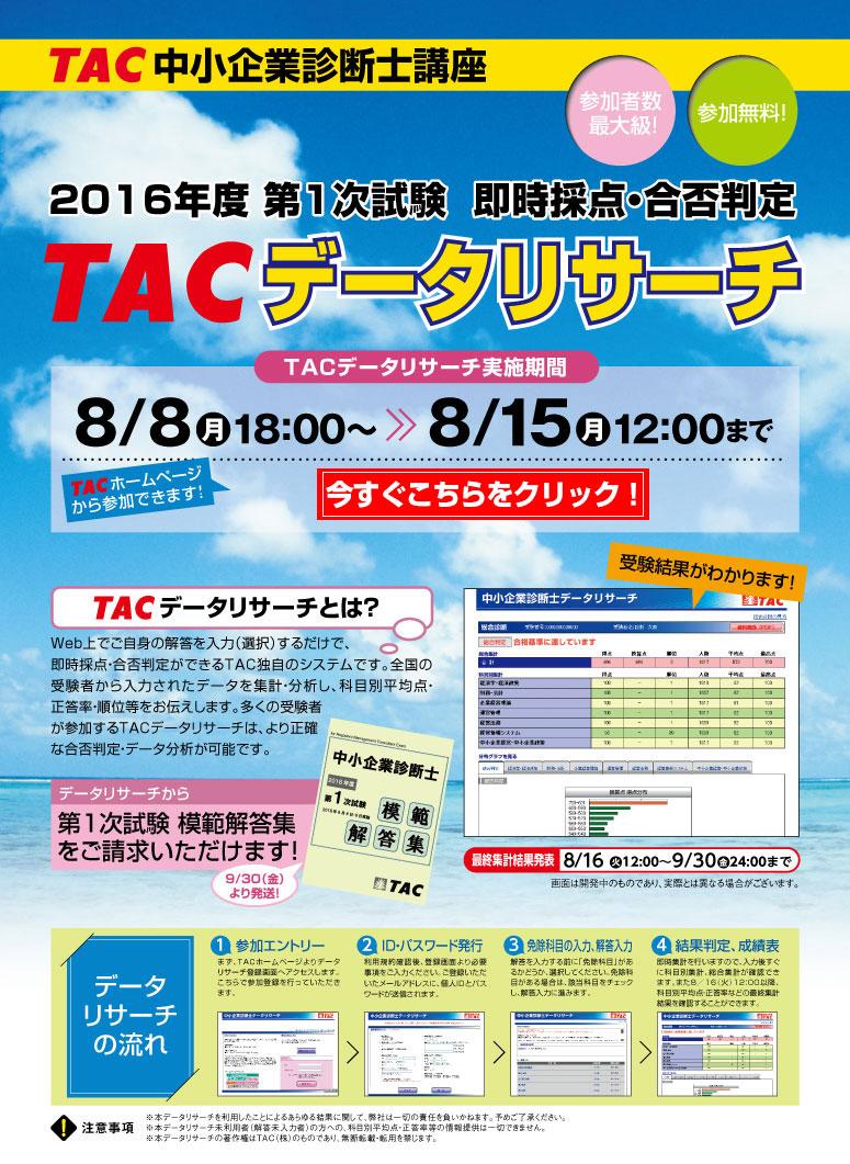 TACデータリサーチ